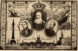 ROYALTY / Belgium / Belgique / België / Koning Leopold I / Roi Leopold II / Prins Albert / 1905 - Koninklijke Families