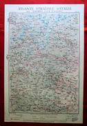 Foglio 9, Susa - Monviso, ATLANTE STRADALE D'ITALIA Touring Club Italiano 1923-26 (Dir. L. V. Bertarelli) - Carte Stradali