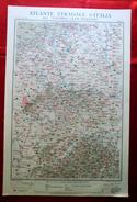 Foglio 10, Torino - Vercelli, ATLANTE STRADALE D'ITALIA Touring Club Italiano 1923-26 (Dir. L. V. Bertarelli) - Carte Stradali