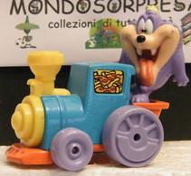 MONDOSORPRESA, (SC106 - X22) WARNER BROSS,MACCHININA LOONEY TUNES TAZ DIZZY DEVIL, PLAYSKOOL, 1990 - Cartoons
