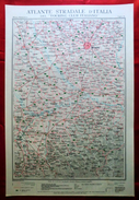 Foglio 11, Milano - Alessandria, ATLANTE STRADALE D'ITALIA Touring Club Italiano 1923-26 (Dir. L. V. Bertarelli) - Carte Stradali