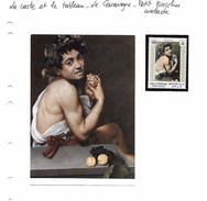 La Carte Et Le Tableau - Le Caravage - Petit Bacchus Malade - Other