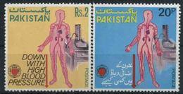 1978 Pakistan, Lotta Contro L'ipertensione , Serie Completa Nuova (**) - Pakistan