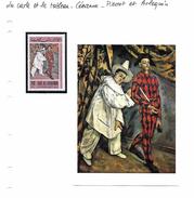 La Carte Et Le Tableau - Cézanne - Pierrot Et Arlequin - Impressionisme