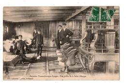"""PAQUEBOT TRANSATLANTIQUE """" ESPAGNE """" . UNE PARTIE DE LA SALLE A MANGER - Réf. N°610 - - Steamers"""