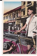 CPSM SUD VIET NAM SAIGON REPARATEUR DE BICYCLETTES EN PLEIN AIR - Vietnam