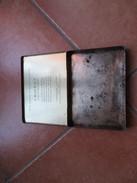 """Scatola Vuota Originale Epoca Sigarette Cigarettes CRAVEN """"A"""" Cork Tipped Cat Virginia Cigarettes Metallo Rosso - Contenitori Di Tabacco (vuoti)"""