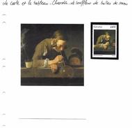 La Carte Et Le Tableau - Chardin - Le Souffleur De Bulles De Savon - Arts