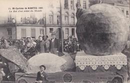 NANTES/44/ Mi-carême 1921 Le Rat S'est Retiré Du Monde/ Réf:C4956 - Nantes