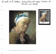La Carte Et Le Tableau - Chardin - Autoportrait, Dit Aussi Portrait De Chardin Aux Bésicles - Autres