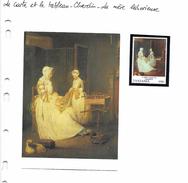La Carte Et Le Tableau - Chardin - La Mère Laborieuse - Arts