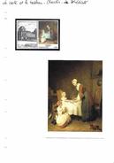La Carte Et Le Tableau - Chardin - Le Bénédicité - Arts