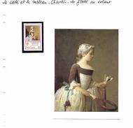 La Carte Et Le Tableau - Chardin - La Fillette Au Volant - Arts