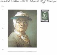 La Carte Et Le Tableau - Chardin - Autoportrait, Dit à L'abat-jour Vert - Arts