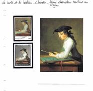 La Carte Et Le Tableau - Chardin - Jeune Dessinateur Taillant Un Crayon - Arts