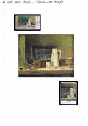 La Carte Et Le Tableau - Chardin - La Tabagie - Arts