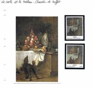 La Carte Et Le Tableau - Chardin - Le Buffet - Art