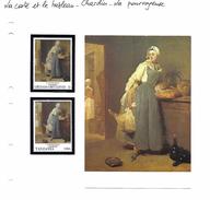 La Carte Et Le Tableau - Chardin - La Pourvoyeuse - Arts