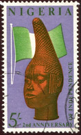 Pays : 346,1 (Nigeria : Fédération Indépendante)  Yvert Et Tellier N° :  129 (o) - Nigeria (1961-...)
