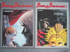 Vicomte - Balade Au Bout Du Monde Tomes 2 Et 3 - BD EO 1984 Et 1985 - Books, Magazines, Comics