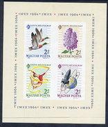 HUNGARY 1964 Stamp Day Imperforate Block MNH / **.  Michel Block 42B - Blocks & Sheetlets