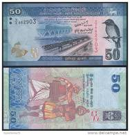 Sri Lanka P 124 - 50 Rupees 1.1.2010 ( 2011 ) - UNC - Sri Lanka
