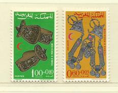 MAROC  ( D18 - 594 )  1967  N° YVERT ET TELLIER   N° 523/524   N* - Maroc (1956-...)