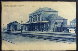 CPA Bourg-Leopold Station Leopoldsburg Statie Gare 1934 Belgique - Gares - Sans Trains