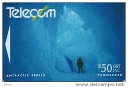 NEW ZEALAND ROSS DEPENDENCY $50  ANTARCTIC  ICE CAVE  NOT SOLD IN NZ  NZ-G-44 READ DESCRIPTION !!
