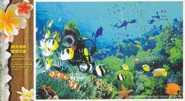 China - Diving, Sanya City Of Hainan Province, Prepaid Card