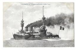 (13823-00) Jauréguiberry - French Battleship - Krieg