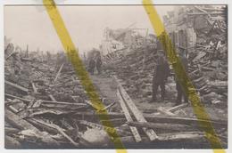 02 AISNE CORBENY Canton De GUIGNICOURT  CARTE PHOTO ALLEMANDE MILITARIA 1914 1918 WW1 WK1 - Autres Communes