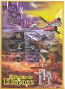 2000 Burundi L'histoire Du Space History Miniature Sheet Of 12 MNH
