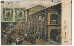 Main Street Governor Magoon In First Carriage  Edit Maduro P. Used To Cienfuegos Cuba - Panama