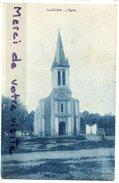 - St-Lucie - ( ORAN ), L'Eglise, Peu Courante, écrite, Joli Timbre, Pour Marseille, TBE, Scans. - Oran