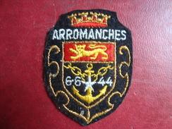 Ecusson Tissu ARROMANCHES - Blazoenen (textiel)