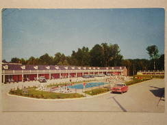 Nash Metropolitan, Pocahontas Motor Lounge, Williamsburg, Virginia - Voitures De Tourisme