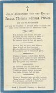 Doodsprentje: PEETERS Joanna Theresia Adriana: ° Esschen, 1924 Aldaar Overleden 1924 - Religión & Esoterismo