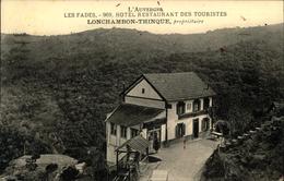 3959 QQQ LR  LES FADES HOTEL RESTAURANT DES TOURISTES LONCHAMBON PROPRIETAIRE - France