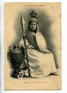 C   19614   -   5 Cartes  -  Les Petites Déesses,  -  Diane - Terpsichore - Flore - Junon - Minerve - 1903 -  Bergeret - Folklore