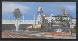 MALAISIE  BF  3  * *  ( Cote 7.65e )   Trains - Eisenbahnen
