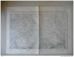 BERNAY (  CORNEVILLE THEVRAY AJOU  CHAMPIGNOLLES GRANCHAIN Grosley CLAVILLE ORMES Beaumontel Barquet Emanville COMBOM - Mappe
