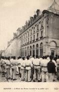 RENNES L'Hôtel Des Postes Incendié Le 29 Juillet 1911 - Rennes