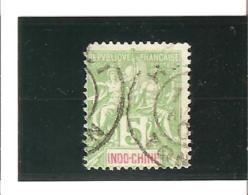 INDOCHINE Timbres De 1900  N°17  Oblitéré - Usados
