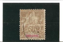 INDOCHINE Timbres De 1900  N°21  Oblitéré - Usados