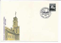 SC Special Cancellation Vilnius University Library 425th Anniversary - 25 September 1995