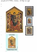 La Carte Et Le Tableau - Cimabue - La Vierge Aux Anges - Religious