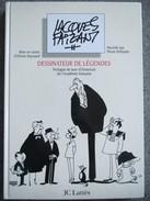 Jacques Faizant - Dessinateur De Legende - Triple Envoi Autographe Dedicace - Livres, BD, Revues
