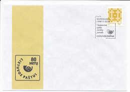 SC Special Cancellation International Philatelic Exhibition Copenhagen Denmark - 5-8 November 1998