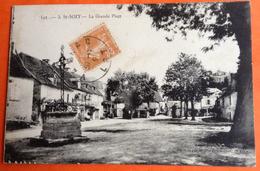 Lot St Saint Sozy Grande Place à Charbonnier Neuilly Seine - Autres Communes